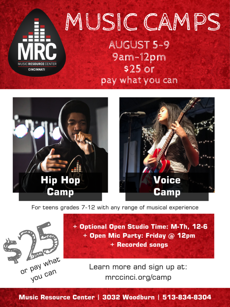 Hip Hop and Voice Camps   Sign Up Now! :: The Music Resource