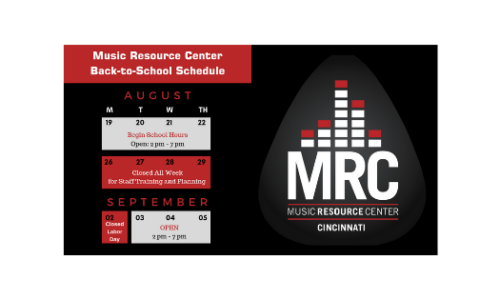 Cincinnati Public Schools Calendar.The Music Resource Center Cincinnati